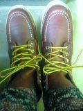 大声あげて疲れた靴で足跡をつけて走ってく♪